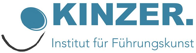 Logo Kinzer Führungskunst blau